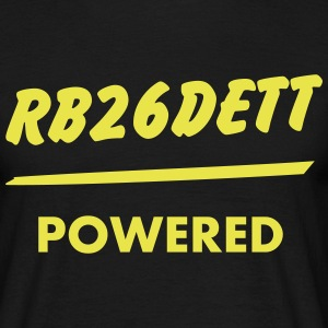 Engine powered - RB26DETT T-Shirts - Männer T-Shirt