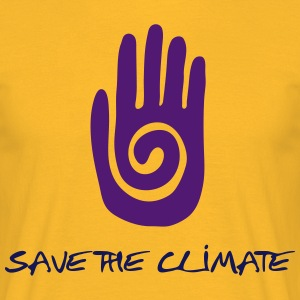 Save the climate - T-shirt Homme