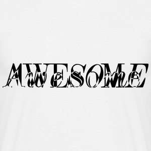 Awesome DesignersEdition - Männer T-Shirt