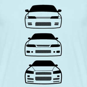 JDM - Car eyes Godzillas T-Shirts - Men's T-Shirt