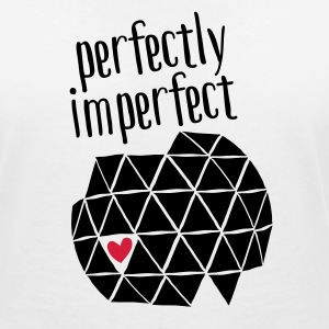 Perfectly Imperfect T-Shirts - Women's V-Neck T-Shirt