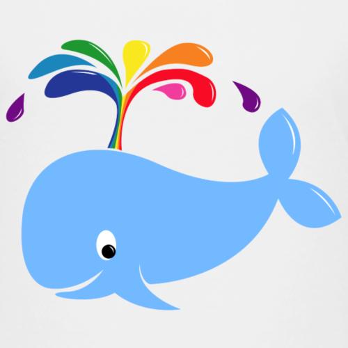 Regenbogenwal