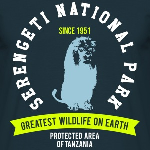 SERENGETI NATURAL PARK - LION T-Shirts - Men's T-Shirt