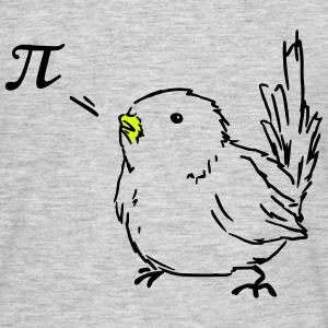 bird pi T-Shirts - Men's T-Shirt