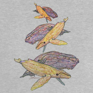 Humpback whales mixed colours Shirts - Baby T-Shirt
