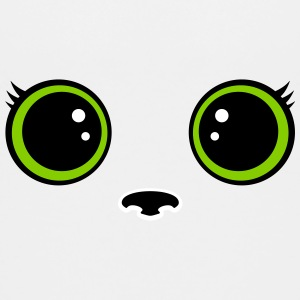 Kitten kawaii eyes Shirts - Teenage Premium T-Shirt