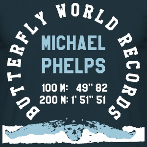 BUTTERFLY WORLD RECORDS T-Shirts - Men's T-Shirt