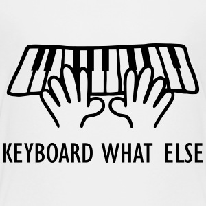 Keyboard What Else T-Shirts - Teenager Premium T-Shirt