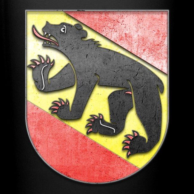 Schweiz Bern Wappen in Stein gemeißelt