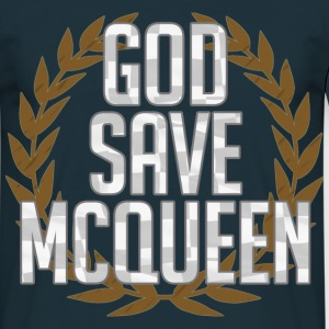 God save McQueen - Männer T-Shirt