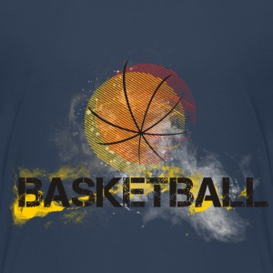 basketball-basket-effect T-shirts - Teenager premium T-shirt