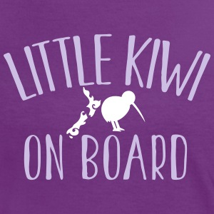 Little KIWI on board funny New Zealand Pregnancy  T-Shirts - Women's Ringer T-Shirt