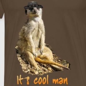 It´s cool man T-Shirts - Männer Premium T-Shirt