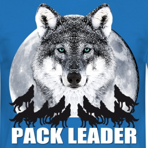 Pack Leader Wolf JGA Party Team Vollmond T-Shirt - Männer T-Shirt