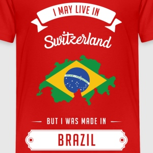 Brazilian in Switzerland Tee shirts - T-shirt Premium Enfant
