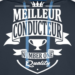 Meilleur Conducteur Sweat-shirts - Sweat-shirt à capuche Premium pour hommes