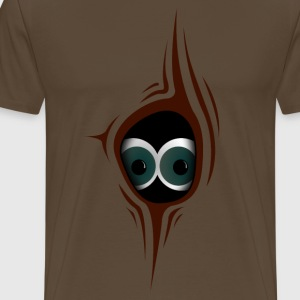 Knothole with eyes T-Shirts - Men's Premium T-Shirt