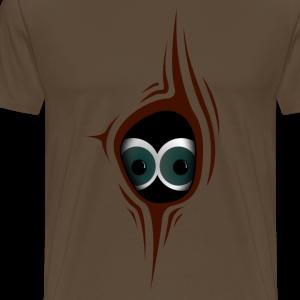 Astloch mit Augen