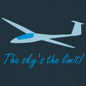 The sky's the limit! - Männer T-Shirt