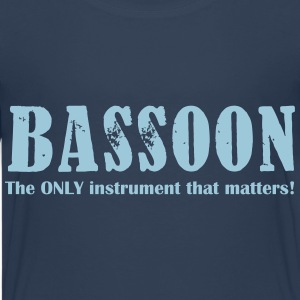 Bassoon, The Only instrum Shirts - Teenage Premium T-Shirt