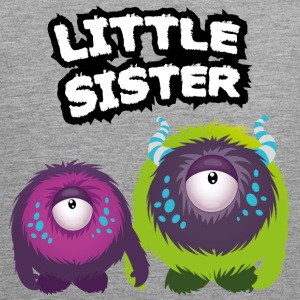 Little Sister Monster Tank Tops - Männer Premium Tank Top