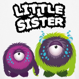 Little Sister Monster Long Sleeve Shirts - Kids' Premium Longsleeve Shirt