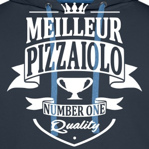 Pizzaiolo Sweat-shirts - Sweat-shirt à capuche Premium pour hommes