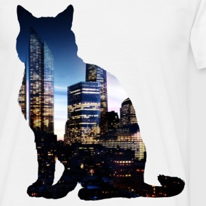 City Cat - Männer T-Shirt