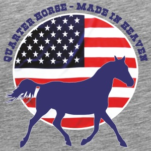 Made in Heaven Quarter Horse T-skjorter - Premium T-skjorte for menn