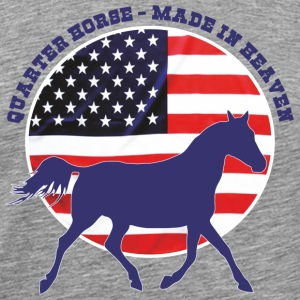 Made in Heaven Quarter Horse Tee shirts - T-shirt Premium Homme