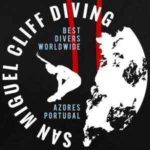 SAN MIGUEL CLIFF DIVING Hoodies & Sweatshirts - Contrast Colour Hoodie