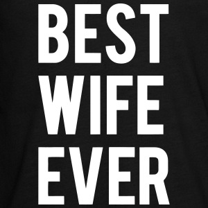 BEST WIFE GIVES THIS Long Sleeve Shirts - Teenagers' Premium Longsleeve Shirt