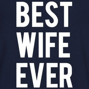 BEST WIFE GIVES THIS Tee shirts - T-shirt Homme col V