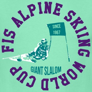 FIS ALPINE SKIING WORLD CUP - GIANT SLALOM T-Shirts - Men's T-Shirt