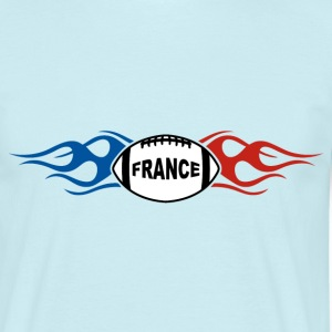 France sport rugby flaming