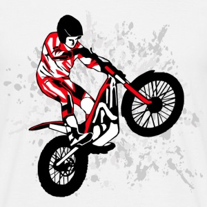 Trial Racing T-Shirts - Men's T-Shirt