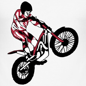 Trial Racing T-shirts - Slim Fit T-shirt herr