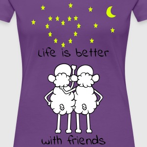 Friends T-Shirts - Frauen Premium T-Shirt