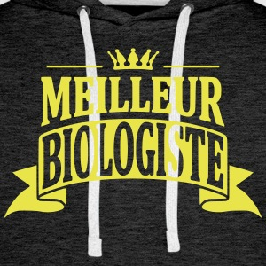 Biologiste Sweat-shirts - Sweat-shirt à capuche Premium pour hommes