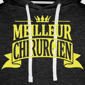 Chirurgien Sweat-shirts - Sweat-shirt à capuche Premium pour hommes