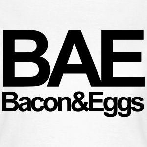 Bae Bacon & Eggs T-shirts - Dame-T-shirt