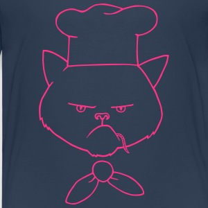 Cooking cat Shirts - Kids' Premium T-Shirt