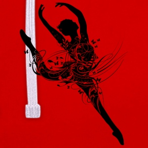Une danseuse de ballet en robe de ballet imaginati Sweat-shirts - Sweat-shirt contraste