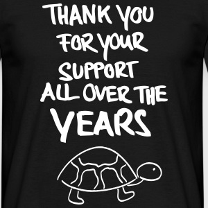 Thank you for Support - Männer T-Shirt