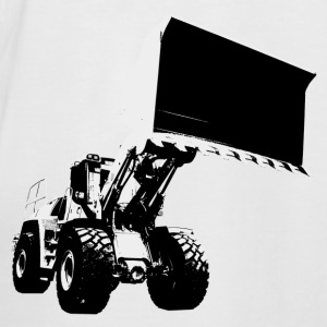 wheel loader Tee shirts - T-shirt baseball manches courtes Homme