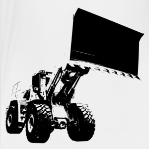 wheel loader T-shirts - Børne premium T-shirt