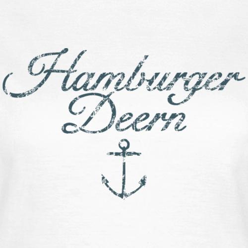 Hamburger Deern Vintage Dunkel Hamburg Anker