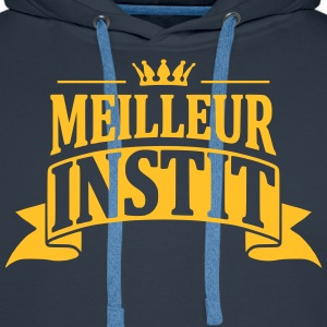 Instit Sweat-shirts - Sweat-shirt à capuche Premium pour hommes