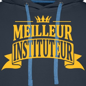 Instituteur Sweat-shirts - Sweat-shirt à capuche Premium pour hommes