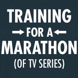 Training For A Marathon (Of TV Series) Camisetas - Camiseta hombre